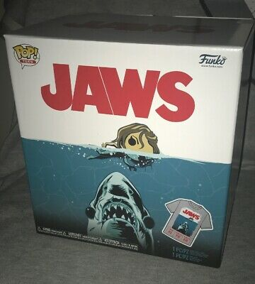 Funko Pop Movies Jaws Bloody Great White Shark Target Exclusive With Xl Shirt