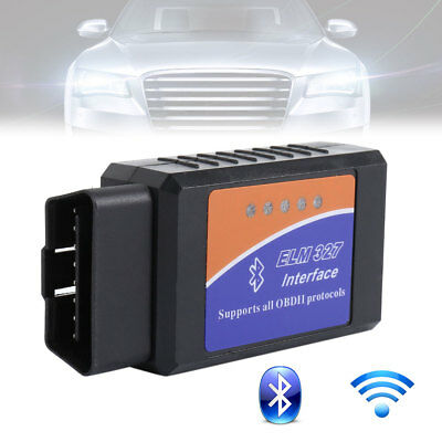 ELM327 WiFi Or Bluetooth OBD2 OBDII Car Diagnostic Scanner Code Reader tool