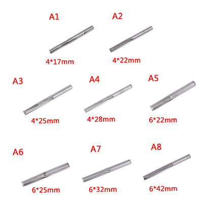 4mm/6mm shank two flutes straight router bits end mill tools milling cut b)