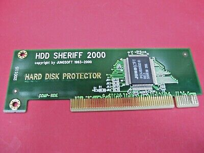 Sheriff 2000 Hard Disk Hdd Protector Protection Pci Card Security Internal