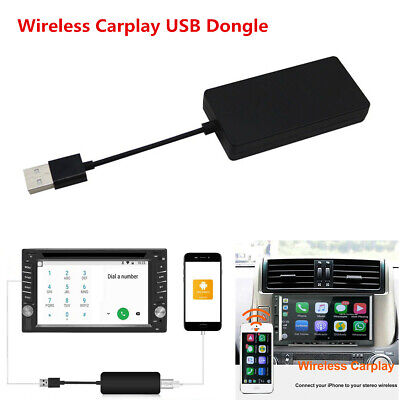 Wireless Smart Link Apple CarPlay USB Dongle for Android Car Stereo GPS Player