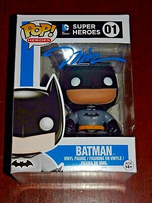 Jim Lee Signed Autographed Batman Pop Funko Figure Dc Comics Exact Proof