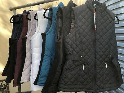 Ladies Puffa Vest, Quilted Sleeveles Jacket. Andrew Marc & Weatherproof