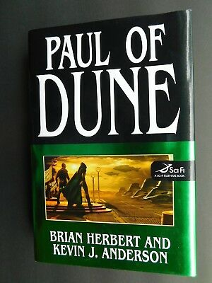 1st ed PAUL OF DUNE 6 Brian Herbert + Kevin  Anderson Sept  2008 HCDJ unread