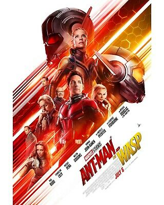 Marvel Ant-Man and the Wasp Theatrical Payoff Movie Poster 27x40 double sided DS