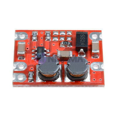 DC-DC 2.5V-15V to 3.3V 5V Step Up/Down Fixed Output Automatic Buck-Boost Module