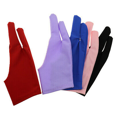 5pcs Tablet Drawing Anti-fouling Glove For Graphics Tablet Left or Right Hand