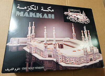 PUZZ 3D MAKKAH The Holy Haram Puzzle 1038 Pieces Wrebbit Complete in