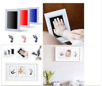 Inkless Wipe Baby Hand And Foot Print Kit- Original High Quality Kit 3 Colors