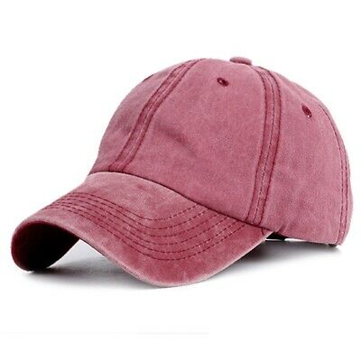 Lady's Ponytail Baseball Cap Summer Solid Color Washed Cotton Sun Hat New #roots