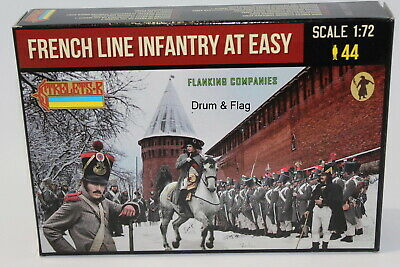 1:72 FIGUREN M134 French Infantry in Summer Dress STRELETS