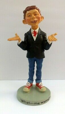 """MAD Magazine Alfred E. Neuman 12"""" Statue New In Box! Rare Official Collectible!"""