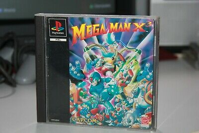 Playstation MEGAMAN X3 PAL ITA Psx ps1 Sony ps psone one 1 mega man X 3 capcom