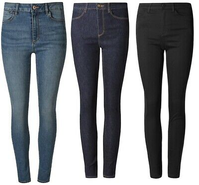 Ladies Ex m&s Sculpt & Lift SKINNY Womens Comfort Stretch Jeans Marks & Spencer