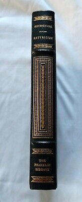 Satyricon Petronius Franklin Library 100 Greatest Books Limited Edition Leather