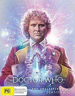 Doctor Who The Collection Series 23 Season 23 Limited Edition Blu ray RB
