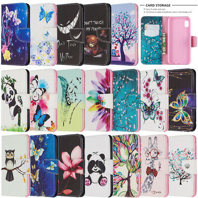 For Samsung Galaxy A10 A20 A30 A50 A70 A51 Wallet Flip Leather Phone Case Cover