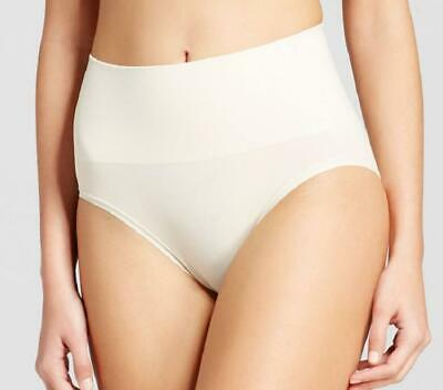JKY by Jockey Women's Slimming Muffin Tamer Briefs, Sandy Yellow – Size Small