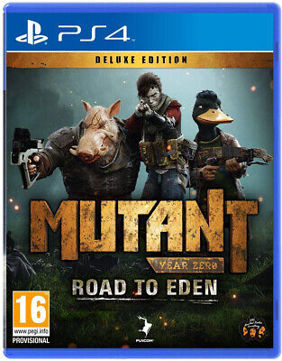 Mutant Year Zero Road to Eden Deluxe Edition (PS4)   BRAND NEW AND SEALED