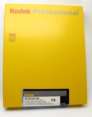 New Old Stock Kodak Ektamax RA 8x10 paper (100) Sheets Sealed Photographic Paper