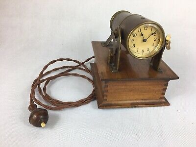 Rare Antique Brass Ever-Ready Night Projector / Brothel / Shadow Clock