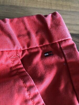 Tommy Hilfiger Chinos Organic Cotton Button Up Size 152cm (12-13 Years)