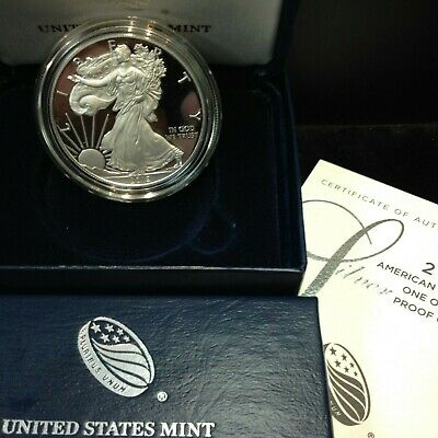 2019-W American Eagle SILVER PROOF (OGP & Papers) WEST POINT