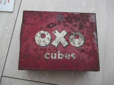 Vintage Oxo Advertising Tin