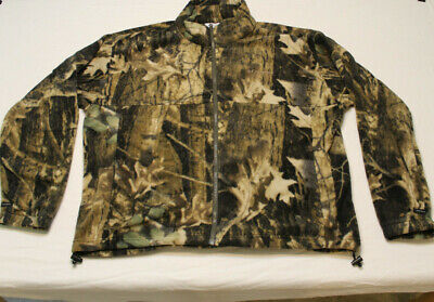 d7861b9652519 Columbia PHG Mens Hunting Realtree Camo Fleece Full Zip Jacket size XL  hunting