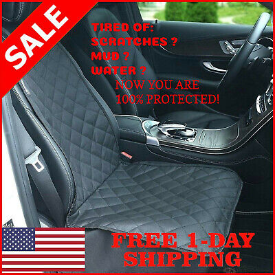 Pet Front Seat Cover Dog Car Seat Cover WaterProof Nonslip Rubber Protector Mat