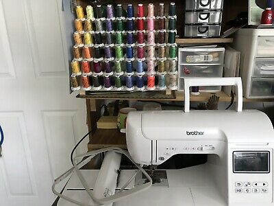 brother embroidery machine  With Lots Of Extras