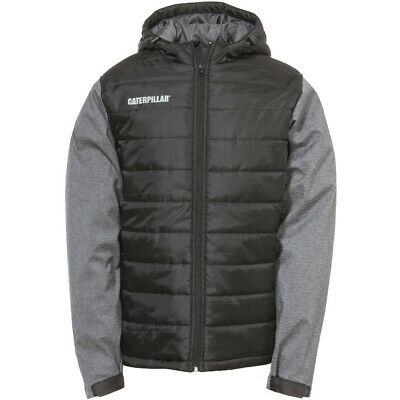 Caterpillar Mens Atomic Reflective Quilted Insulated Jacket