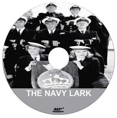 THE NAVY LARK (1 x .mp3 DVD) - COMPLETE COLLECTION + FREE DISC BURNING SOFTWARE