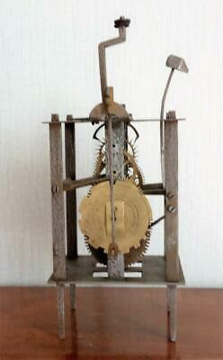 Antique 17-18th Century Cage Clock Movement - Restoration for completion