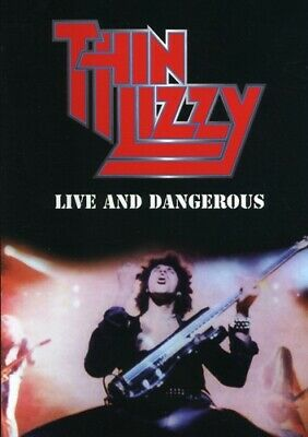 Thin Lizzy: Live and Dangerous [DVD/CD] (2008, DVD NEUF) (RÉGION 0)