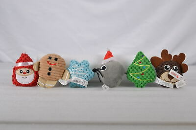 Kong 6 Piece Catnip Infused Holiday Scrattles Cat Toy