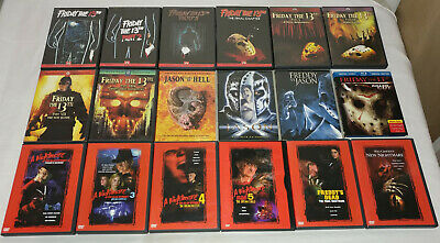 Friday the 13th And Nightmare On Elm Street Collection, Freddy Jason DVD Bundle