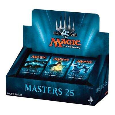 MAGIC THE GATHERING CCG - Masters 25 Cards Booster Box (WOTC) #NEW