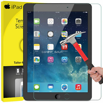 "GLASS Screen Protector For Apple iPad 9.7"" 6th 5th Generation iPad Air iPad Air2"