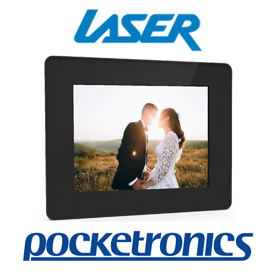 Laser Connect 15-inch Digital Photo Frame AO-DPF1815 Black Wall-mounted 16:9