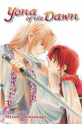 Yona of the Dawn, Vol. 3 by Kusanagi  New 9781421587844 Fast Free Shipping..