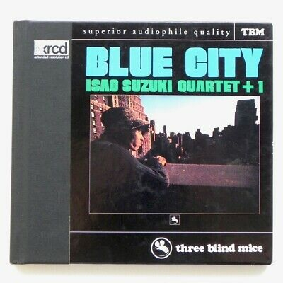 Blue City - Isao Suzuki Quartet +1 / Xrcd Tbm-Xr-0024 - Made In Japan - Rare Oop