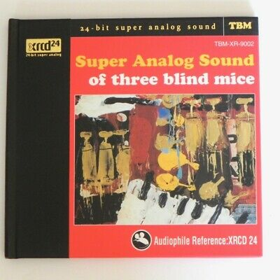 Super Analog Sound Of Three Blind Mice / Xrcd24 - Tbm-Xr-9002  Japan Rare Oop