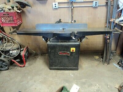 "Dayton 8"" Jointer model 5Z043 Good Condition 1.5 hp 115/230 single phase"