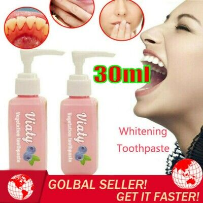 Viaty Toothpaste Stain Removal Whitening Toothpaste Fight Bleeding Gums Fresh^RR