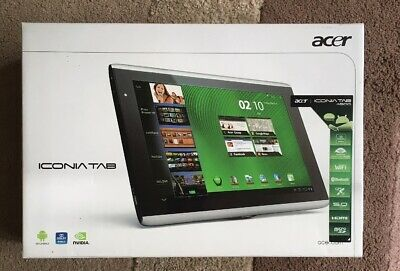 "Acer Iconia Tab A500 - 10.1"" Lcd Screen, 32Gb, 1Gb Ram - Boxed"