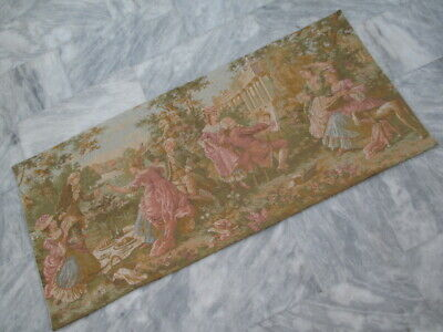 5032 - Old French / Belgium Tapestry Wall Hanging - 155 x 70 cm