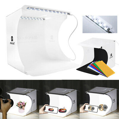 Portable Photo Studio Photography Light Mini Box Backdrop Lighting Room Tent Kit