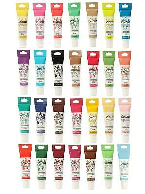 Food Colouring Gel Concentrated Icing Cake Decorating Colour Splash