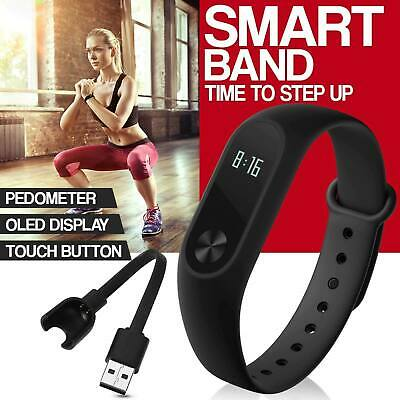 Fit Smart Watch Calorie Counter Bracelet Wristband Activity Step Tracker Uk